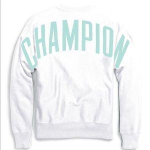 2XL NWT CHAMPION Reverse Weave Crew Sweatshirt Royal Blue OVERSIZED LOGO Men/'s
